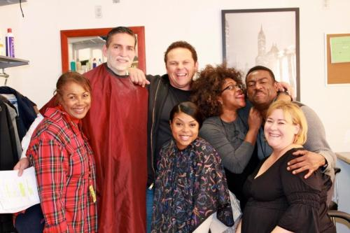 mr-finch:  Kevin Chapman @POIFUSCO These are the men and women that make us look good every day. The Hair and Make-up Dept. LOVE THEM:)  lol they all look too precious!!!