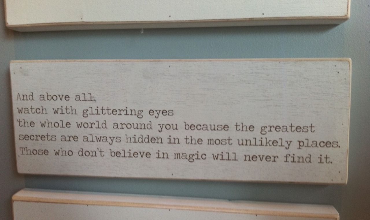 cassandraclare:  Found this on a wall. Love!