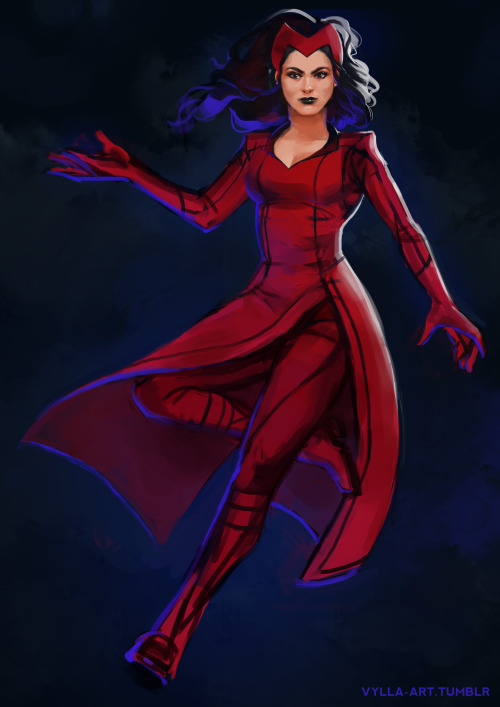 Wanda Maximoff aka 'Scarlet Witch' from Uncanny Avengers by: The Spectacular Vylla