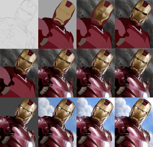 IRON MAN - Tutorial Preview by *Sheridan-J