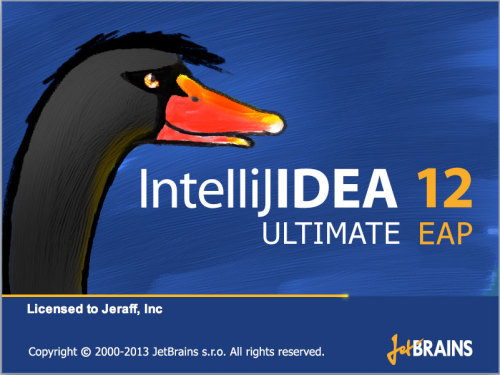 IntelliJ IDEA 12 gets a pissed off duck mascot