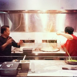 Martin Yan making my lunch today, nbd. #martinyan #mychina #chef #fun (at M.Y. China)
