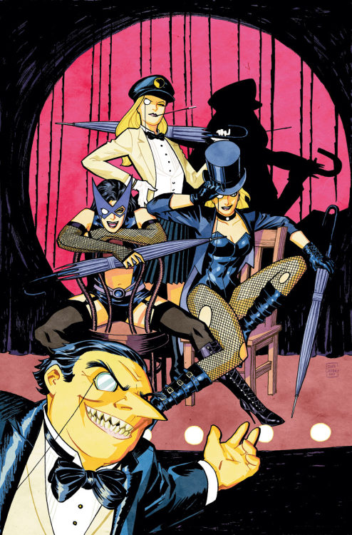 arkhane:  Cover for Birds of Prey #3 (Brightest Day), art by Cliff Chiang Cliff Chiang Tumblr  Man, I love Cliff Chiang.