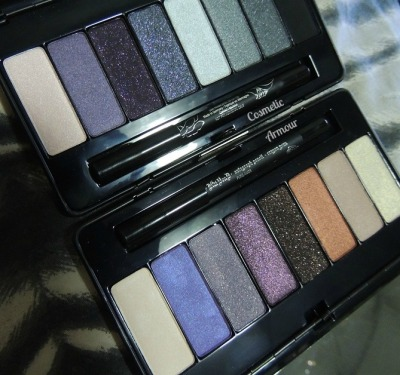 So this happened :) Kat Von D 'Sinner' & 'Poetica' eyeshadow palettes.