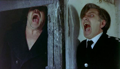 The Shout, 1978 I finally watched Jerzy Skolimowski's eerie horror last night, and loved every minute of it. In amongst the madness, magic and sexual tension, the film is littered with references and symbolism, including allusions to various paintings by Francis Bacon ARTMargins has an interesting review that further explores the themes of the film: The Visual Sonority of Francis Bacon's Painting in Jerzy Skolimowski's The Shout