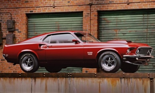 awesome-is-everywhere:  1969 Ford Mustang Boss 429.