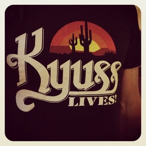 The last piece of Soundwave merch. #KyussLives #Rock #Soundwave #FullMetalMerch #Kyuss (at The Jizznasium)