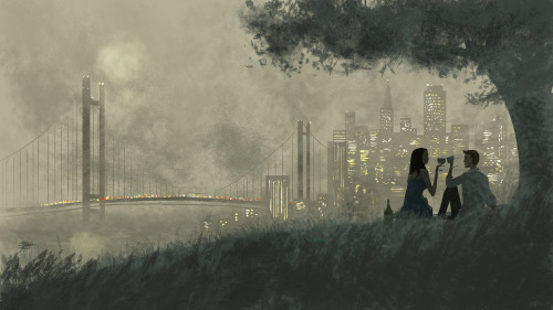 pascalcampion:  I left my heart in San Francisco.  I left my heart in Hanoi ♥