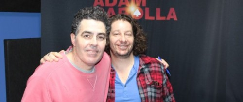 theburntv:  (pic via AdamCarolla.com) Jeff dropped by the Adam Carolla Podcast to talk to Adam about his STELLAR performance on tonight's episode of The Burn. Skip ahead to the 33 minute mark for Jeff's entrance. Get it on, got to get it on, no choice but to get it on, mandate: Get It On. THE BURN WITH JEFF ROSS. TONIGHT @10:30/9:30C COMEDY CENTRAL