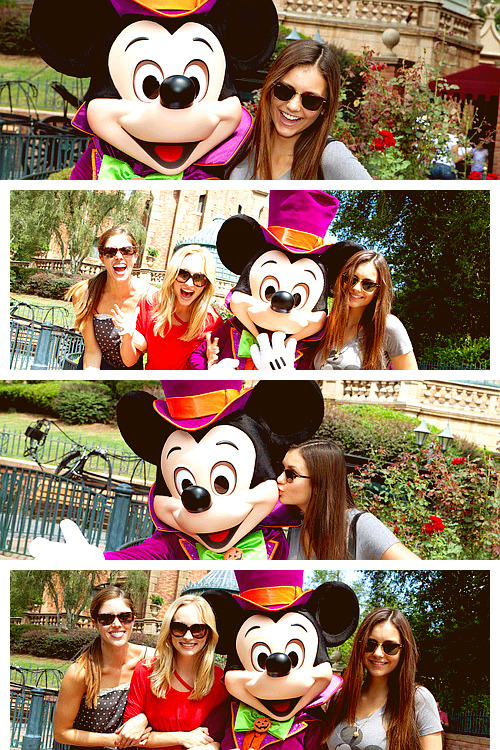 Nina x Candice x Kayla - Disney World In Florida [2012]