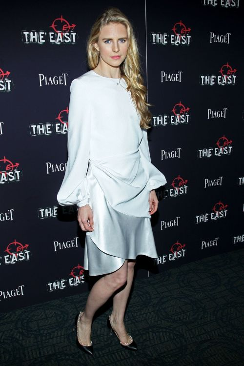 Brit Marling in Prabal Gurung @ 'The East' New York Premiere