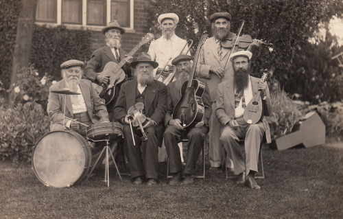 No…not Duck Dynasty the Band   HERE House of David Band circa 1947 collection Jim Linderman