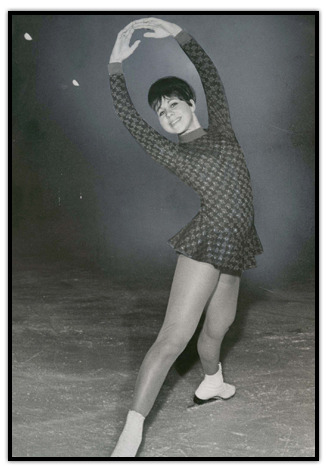 dethspiralz:  brokenzamboni:  petra burka poses for the camera in 1965  Man I miss the old style dresses with the long sleeves. Look at that mod print!