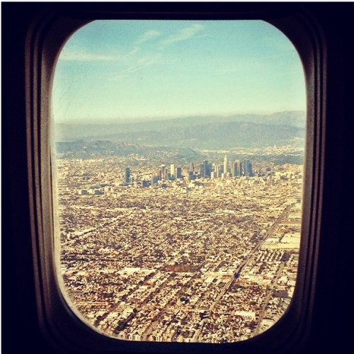 Window Seat #InTheHeartOfTheCity #DTLA  (through the eyes of @kickpeople)