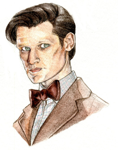 Watercolour of Eleven