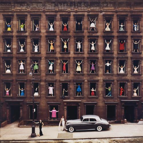 artruby:  Ormond Gigli, Girls in the Windows, New York City (1960).