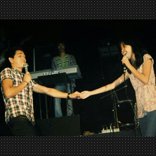 One of my frustrated singer moments. ASAP prod lang ang peg 😜 I miss the stage! #throwbackthursday #frustratedsinger