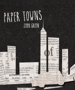 fanmade cover reimagine of paper towns by john green