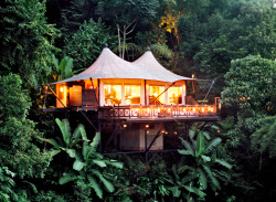 condenasttraveler:  Thailand Travel Guide | Four Seasons Tented Camp Golden Traingle