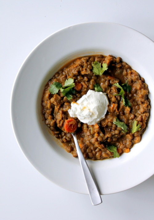 veganrecipecollection:  (via Coconut Curried Sweet Potato and Lentil Stew | Ambitious Kitchen)