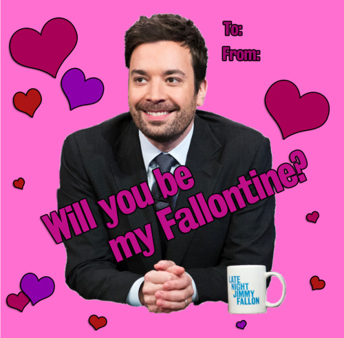 Impress that special somebody with an official Fallontine.