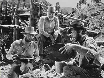 Tim Holt, Walter Huston and Humphrey Bogart (The Treasure of the Sierra Madre, 1948)