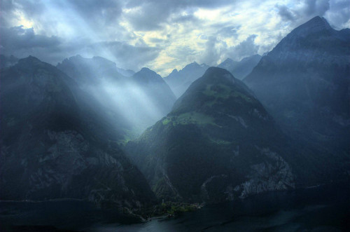 fenddrik:  Switzerland: Let There be Light by Tim Blessed on Flickr.