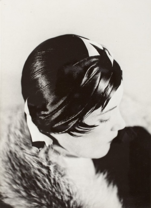 Portrait Of Female With Hat, 1930 by Werner Rohde from LACMA Collections