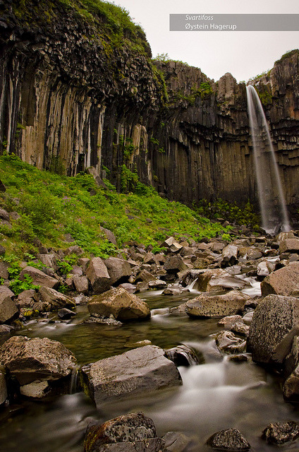 Svartifoss II by ohagerup on Flickr.