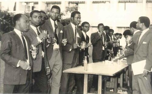 nigerianostalgia:  A social gathering of Sigma Chi at the University of Ibadan.Vintage Nigerian photos