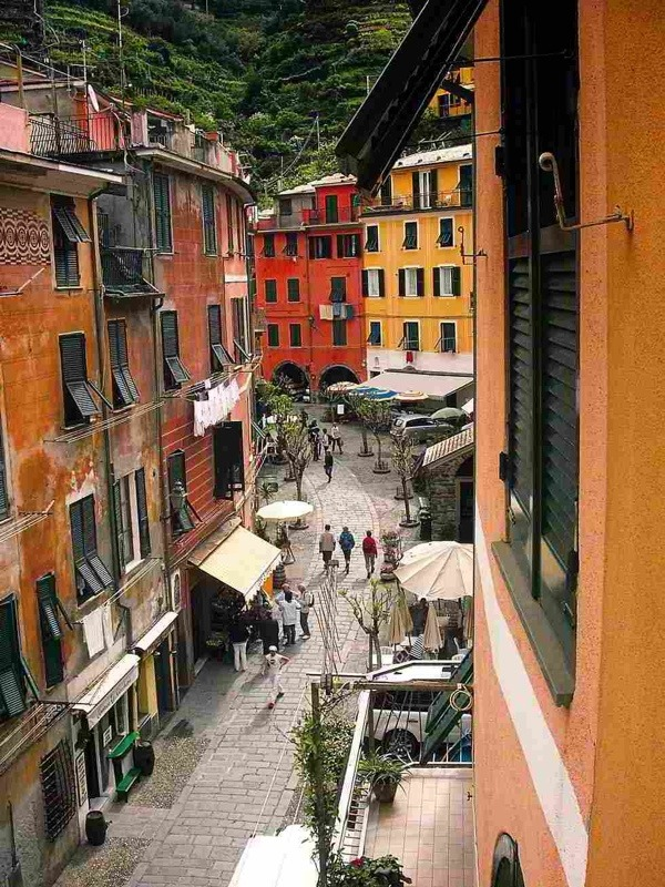 | ♕ |  Hill street of Vernazza | by © Monte Nero