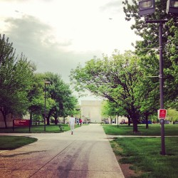 Back at IU! But only for a short while. #campus #summerbreak #ghosttown