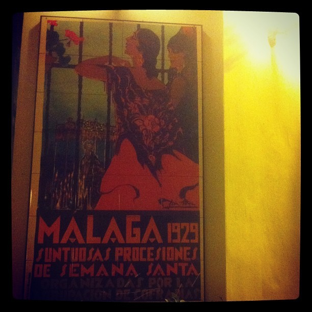 #malaga #weekend #spanish #póster #design #cartel