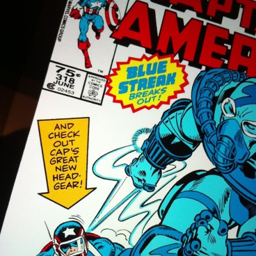 When a new helmet warranted a cover mention!  Cap no. 318!