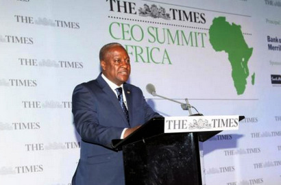 Ghanaian President John Dramani Mahama says with a collective workforce that will total 1.1 billion by 2040, it is critical to invest in developing the continent's people. (via Invest in people, says Mahama | BiztechAfrica Business, Telecom, Technology & IT News Africa)