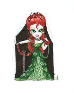 Princess Ivy (no, her body's not twisted, the shaping of the leaves just makes it look like it is. D'oh)