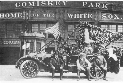 Opening day, Comiskey Park, 1920, Chicago.