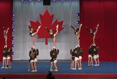 large senior 3 wild cheer athletics <3