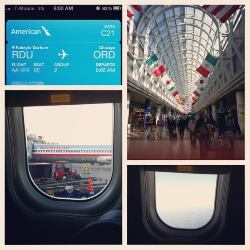 Happy to have made it home safely ☺ #traveler #airport #ord #picstitch