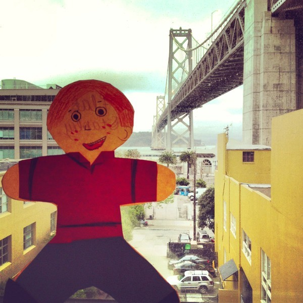 Flat Stanley's San Francisco adventures