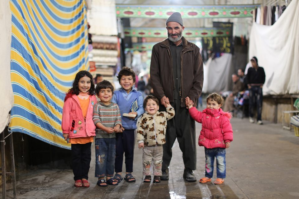 humansofnewyork:  A rather joyous encounter with an Afghan family in the Shiraz Bazaar.