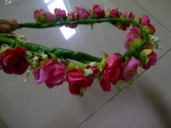 Single flowercrown pink for sale 52K hoho