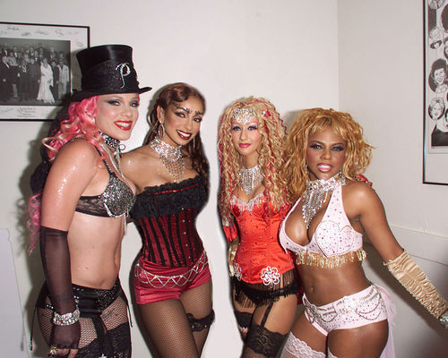 facethedawn:   P!NK, Mya, Christina Aguilera and Lil' Kim  WE INDEPENDENT WOMEN SOME MISTAKE US FOR WHORES I SAY WHY SPEND MINE WHEN I CAN SPEND YOURS