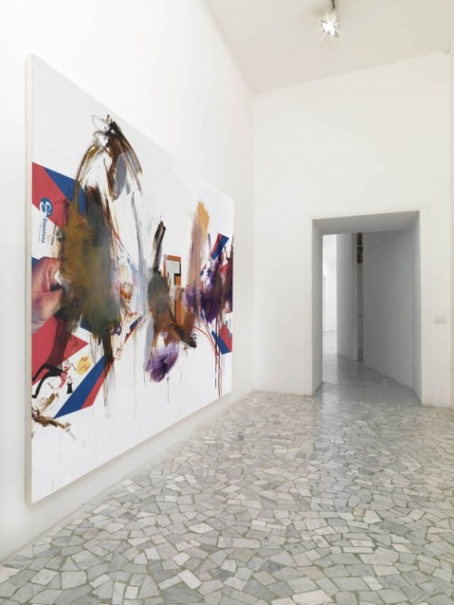 contemporaryartdaily:  Albert Oehlen at Alfonso Artiaco  Albert Oehlen