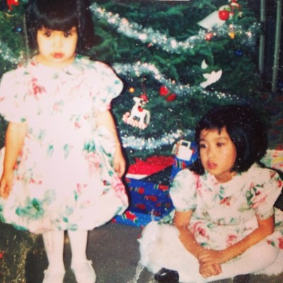 we're so cute in our matching floral dresses. 🌸 #tbt @andrielag  (at Colma, CA)