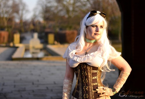 Steampunk in the Park by *ArcanaPhotographic