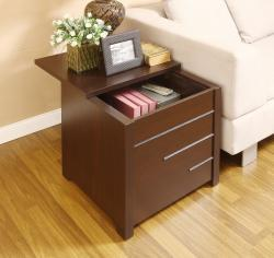 Hidden storage compartment furniture - end table
