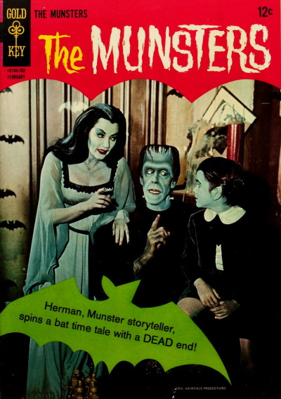 monsterman:  The Munsters (No. 11, February 1967)