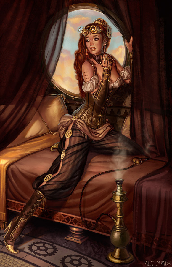 The Steampunk Harem by Aly Fell
