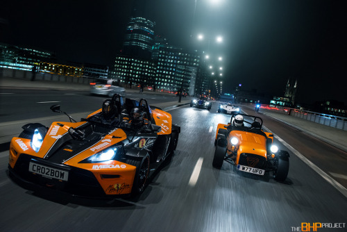 automotivated:  KTM, Caterham, Atom & BAC Mono on London Bridge (by GFWilliams.net Automotive Photography)